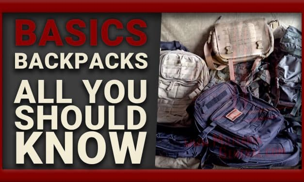 📝 BACKPACKS & BACKPACKING, ALL YOU NEED TO KNOW | BASICS
